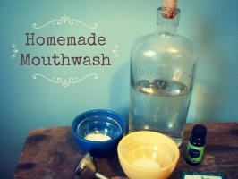 Awesome Homemade Mouthwash
