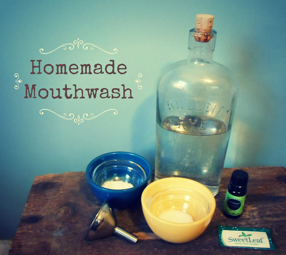 Awesome Homemade Mouthwash