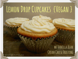 Vegan Lemon Drop Cupcakes