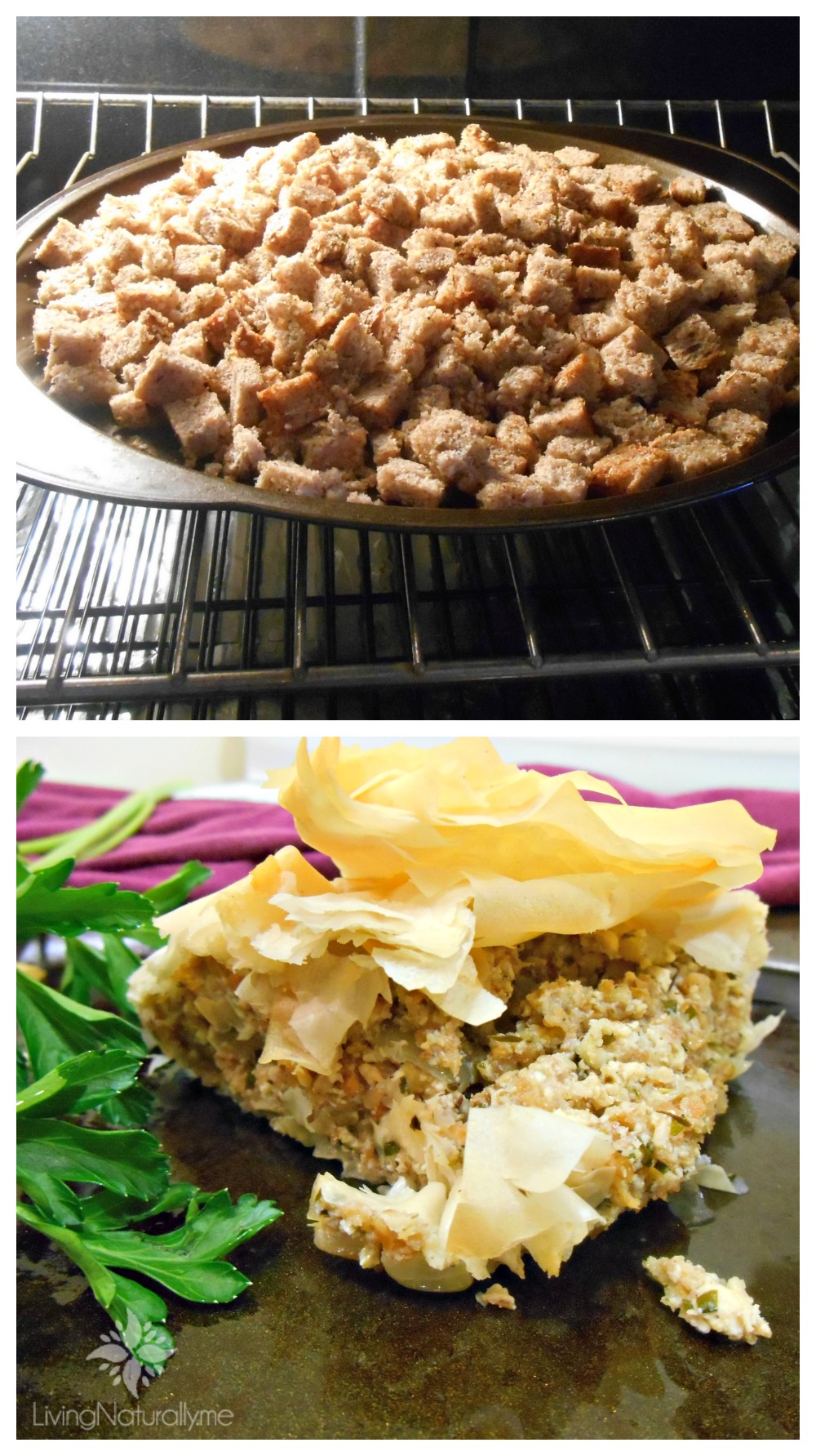 Vegan Sprouted Grain Stuffing Recipe